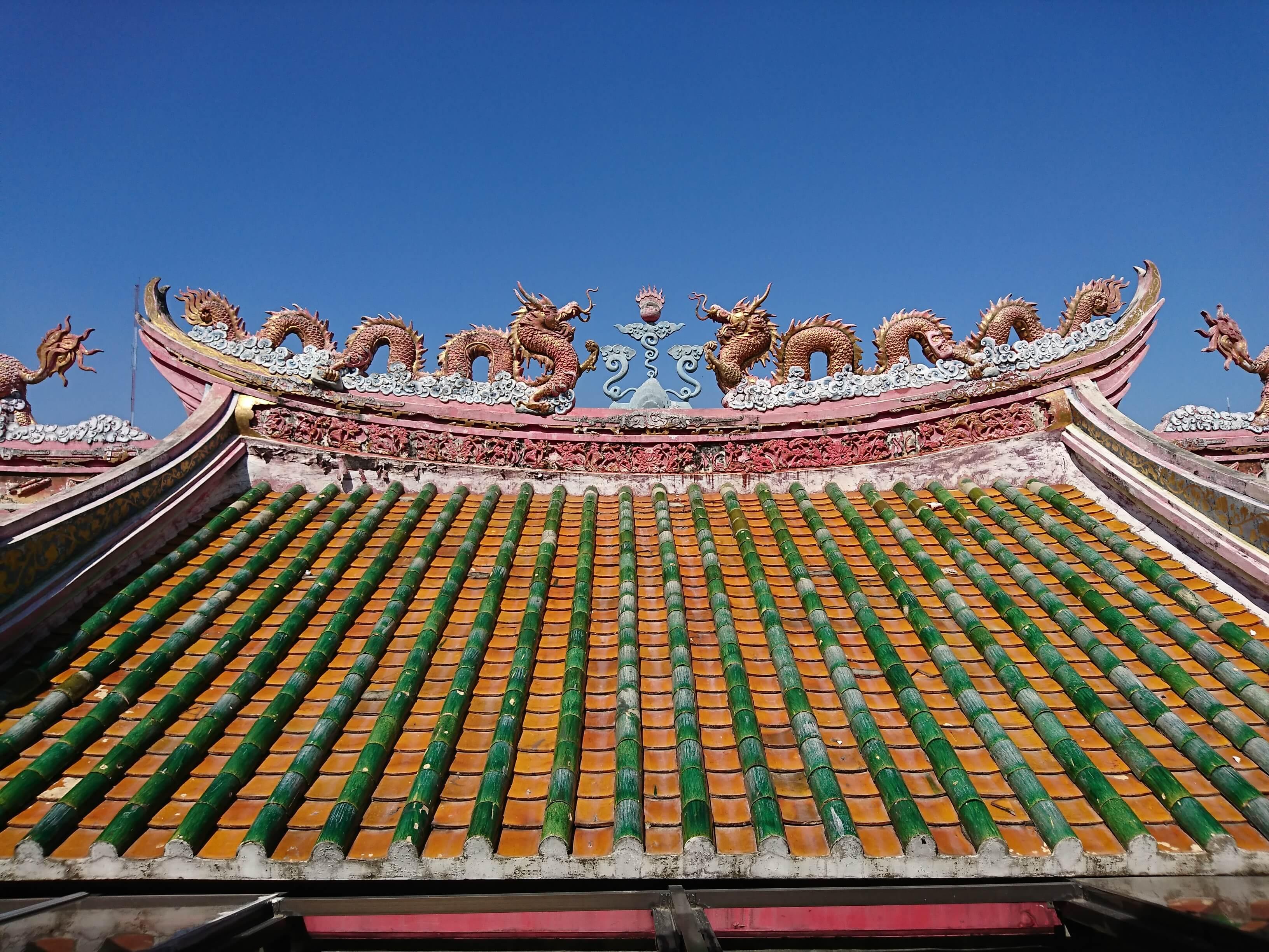 ワットパナンチューン(Wat Panan Choen)/ 世界遺産アユタヤで、最大クラスの黄金の仏像が圧巻の現存寺院