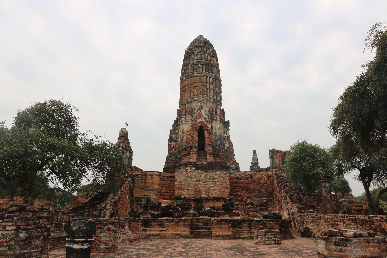 ワットプララーム(Wat Phra Ram) / アユタヤ王朝、初代のウートン王が眠る厳かな雰囲気を持つ遺跡