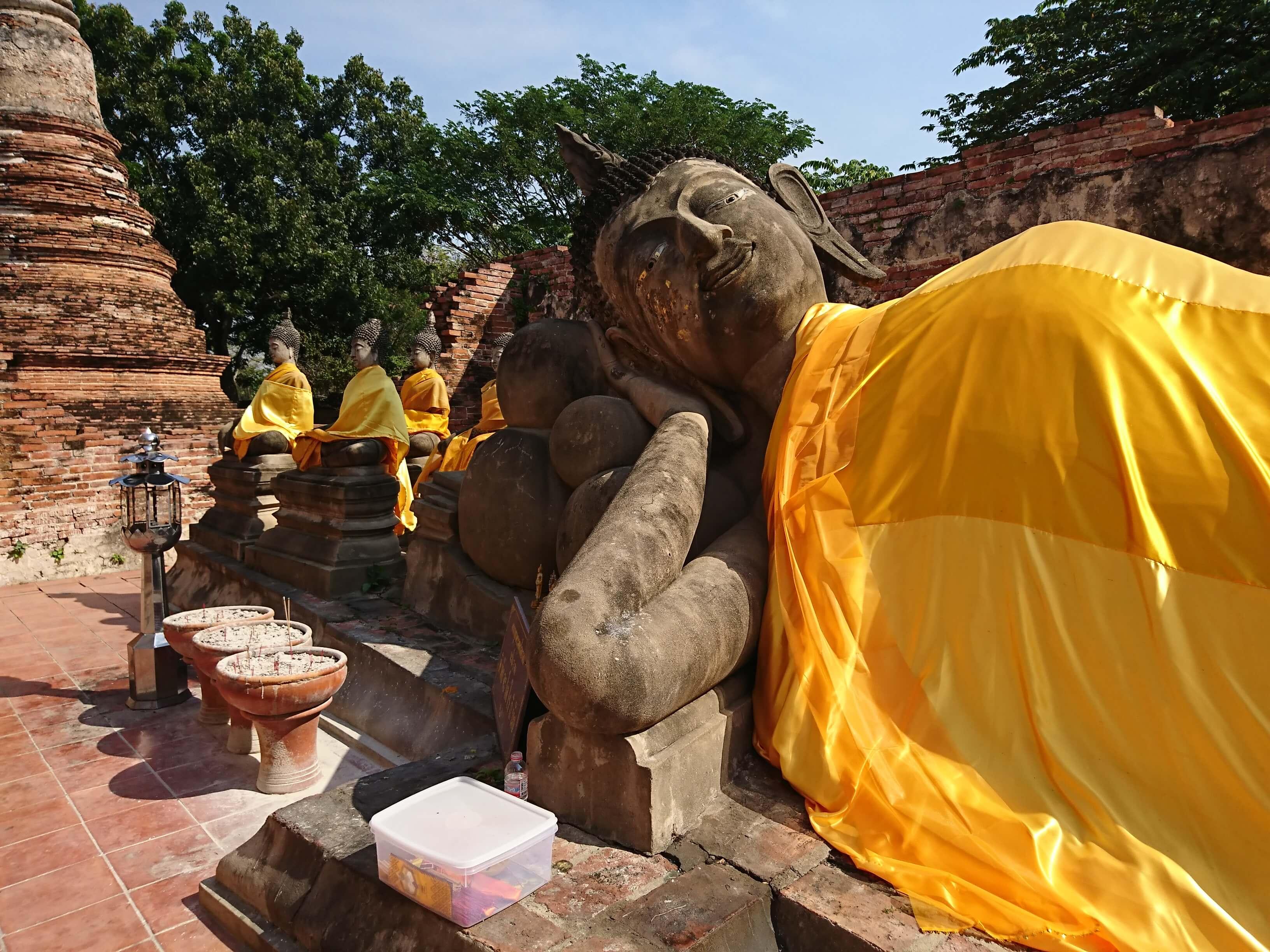 ワットプッタイサワン(Wat Phutthaisawan)/ アユタヤ王朝最初の宮殿だった仏教寺院