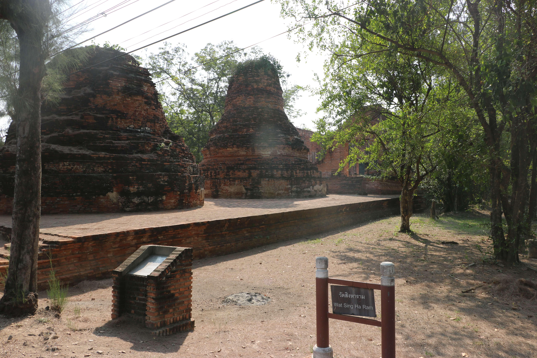 ワット シンハーラム / アユタヤ王朝中期に建立された、別名「ライオンの修道院」