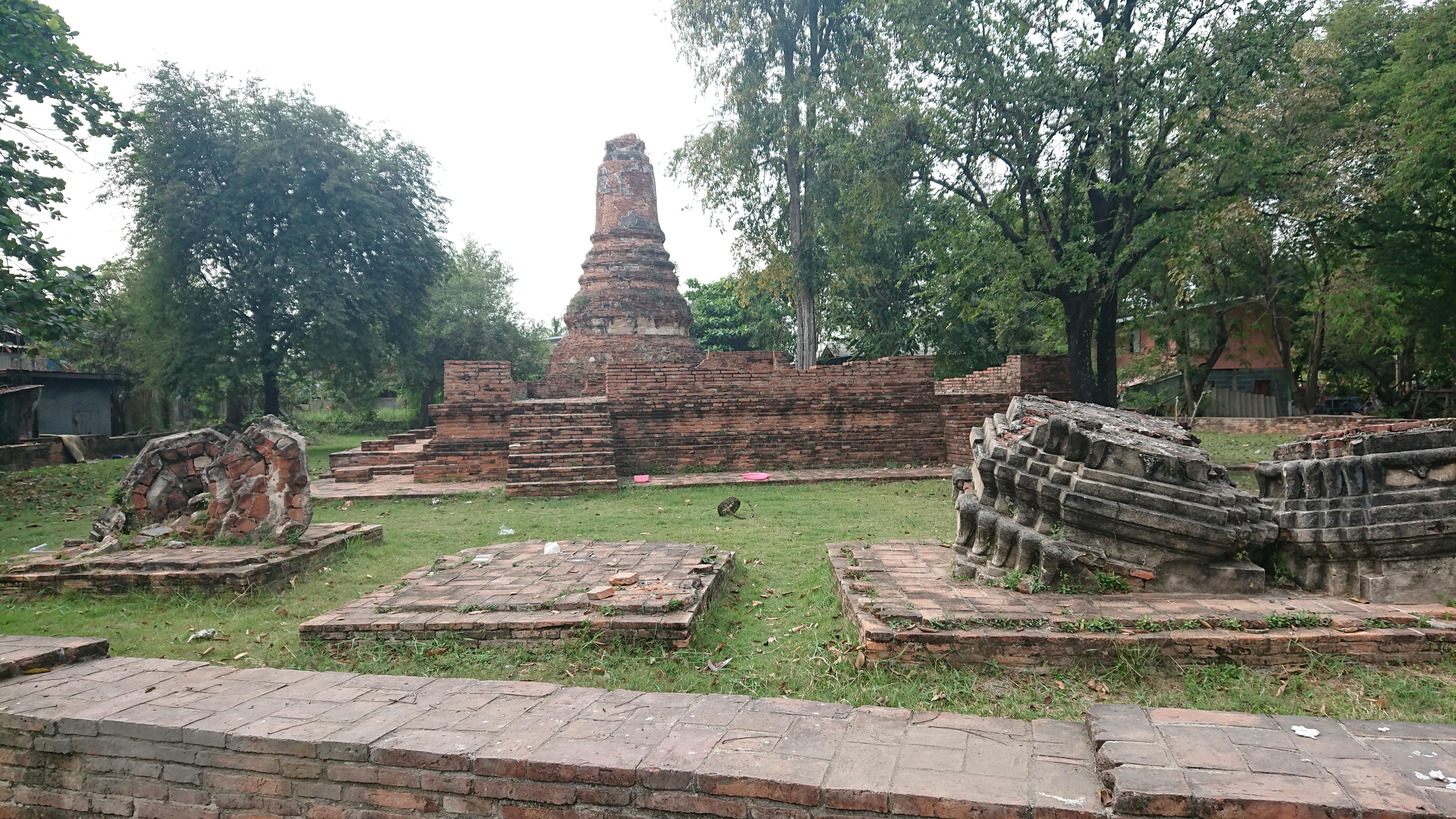 ワットコークプラヤー / アユタヤ王朝での歴史的事件が起こったとされる仏教寺院遺跡