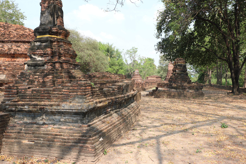 ワットチャオヤー / 4連チェーディー(仏塔)など見所の多い、アユタヤ王朝初期に建立された仏教寺院遺跡