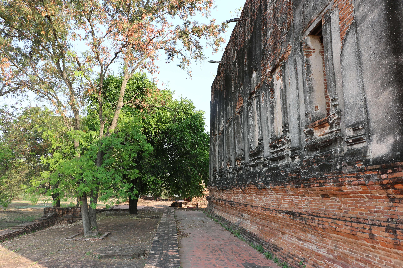 ワットプラヤーメーン / 他の遺跡にはない独特な見所と秘境的な場所にある仏教寺院遺跡