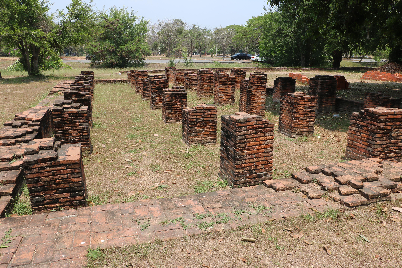 ワットルアンチークット(Wat Luanfg Chee Krut)/ アユタヤ王朝第18代チャクラパット王(白象王)に縁のある仏教寺院遺跡