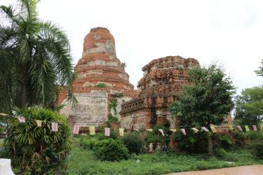 ワットアヨタヤ(วัดอโยธยา・Wat Ayodhya)/ アユタヤ王朝以前にあった謎の古代王朝時代に建立されたかも知れない、由緒ある現存仏教寺院