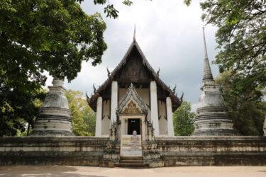ワットタンマラーム(วัดธรรมาราม・Wat Thammaram) / アユタヤ王朝年代記に2度も登場し、スリランカへの仏教布教の礎を築いた由緒ある現存仏教寺院