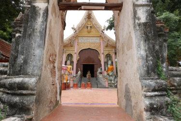 ワットマイバーンカチャ(วัดบางกระจะ・Wat Mai Bang Kaja)/ 美しく装飾された新しい礼拝堂とアユタヤ王朝時代の遺跡が混在する現存仏教寺院