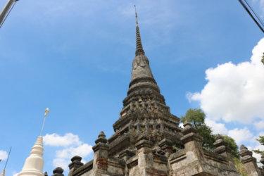 ワットチェーディーデーン(วัดเจดีย์แดง・Wat Chedi Daeng)/ 交通安全のご利益があると評判のアユタヤ王朝後期から続く小さな仏教寺院